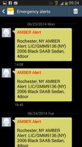 Duplicate Amber Alerts