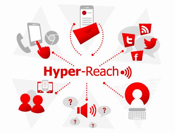 illustration with HR logo